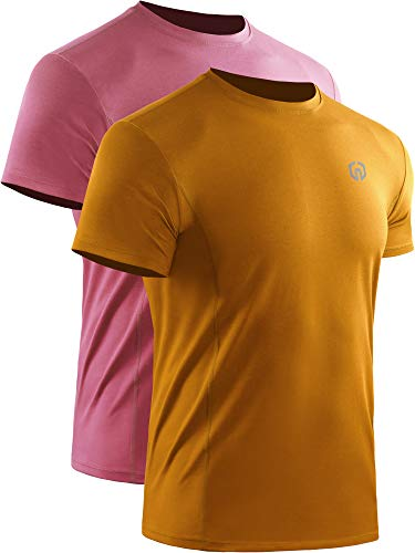 Neleus Men's Dry Fit Athletic Performance Shirt