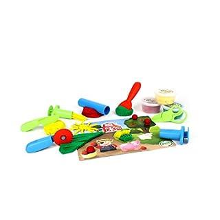 Green Toys Tool Essentials Dough Set Activity
