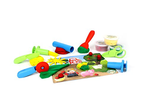 Green Toys Tool Essentials Dough Set Activity