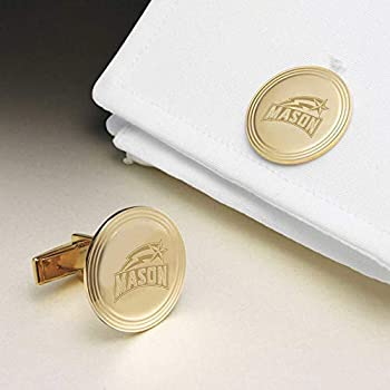 Image of M. LA HART George Mason University 18K Gold Cufflinks
