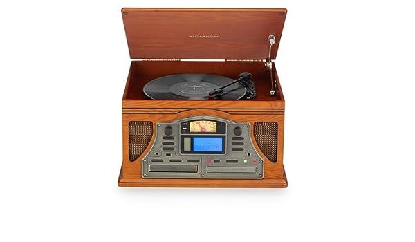 Ricatech 6-in-1 Music Center - Equipo de música con tocadiscos ...