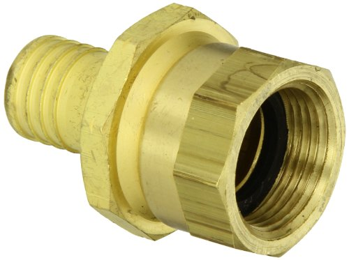(Dixon H5191-BU Brass Scovill Style Internally Expanded Permanent Holedall Fitting, Coupler, 3/4