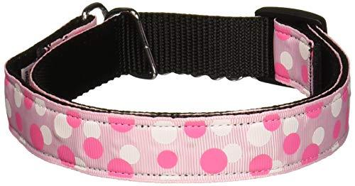 Mirage Pet Products Martingale Confetti Dots Nylon Collar, Large, Light - Martingale Bandana