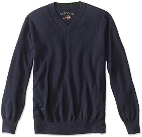 Orvis Merino Wool V Neck Sweater