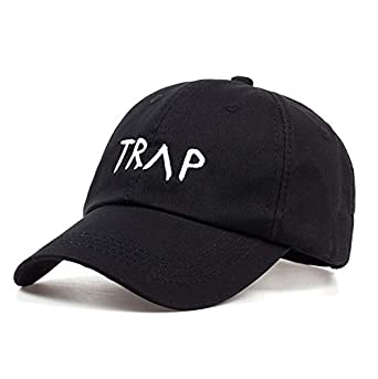 100% Cotton Trap Dad Hat Pretty Girls Like Gorra de Beisbol Trap ...