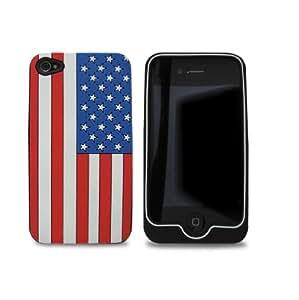 Omenex 730718 carcasa protectora para iPhone 4 USA diseño de