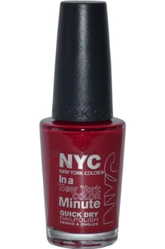 Amazon.com : NYC, In a New York Color Minute, Quick Dry Nail Polish with Minerals, Penn Station (230B), .33 Fl. Oz. : Beauty