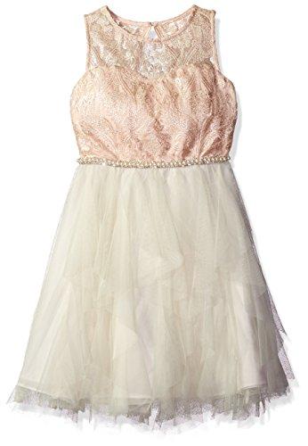 Rare Editions Big Girls' Cascade Special Dress, Special P...