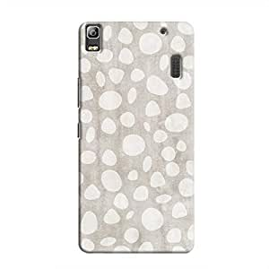 Cover It Up - Pebble Print Grey A7000 / K3 Note Hard Case