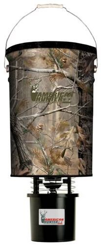 American Hunter 50lb hanging feeder w/ AP camo Pro Hunter Hanging