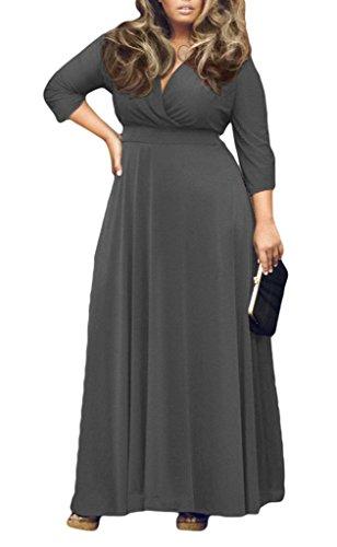 Oversize kleid grau