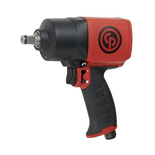 Chicago Pneumatic CP7749 ½ in. Air Impact Wrench - Pneumatic Tool with Twin Hammer Mechanism. Impact Wrenches