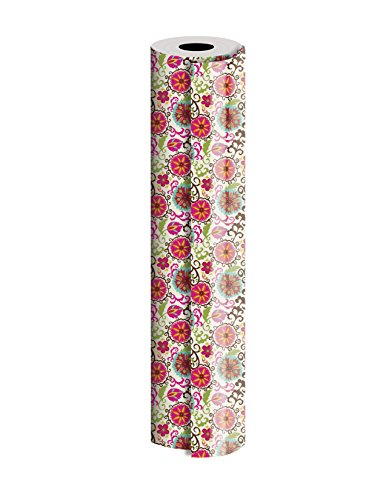 Jillson Roberts Bulk 1/4 Ream Gift Wrap Available in 9 Different Designs, 24