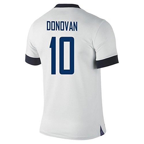 柔らかい足拒絶する太平洋諸島NIKE DONOVAN #10 USA Centennial 2013 Home Soccer Jersey YOUTH./サッカーユニフォーム アメリカ 100周年記念 ホーム用 背番号10 ドノバン ジュニア向け