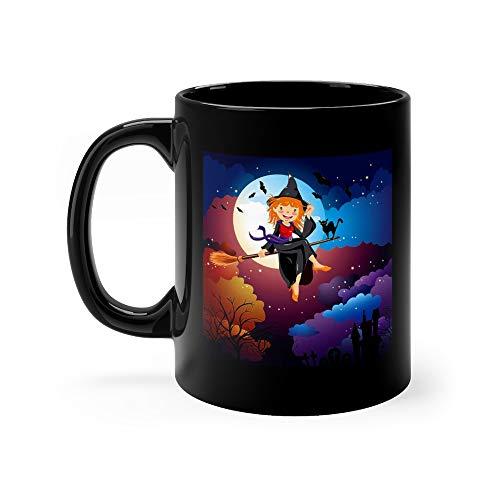 Halloween Witch Costume Mug 11 Oz -