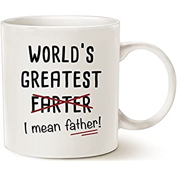 Fathers Day Gifts Funny Christmas Best Dad Coffee Mug