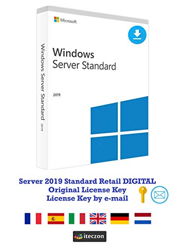 MS Server 2019 Standard Retail | Official Download Link | With Invoice | Full Version, Code is sent by e-mail and…
