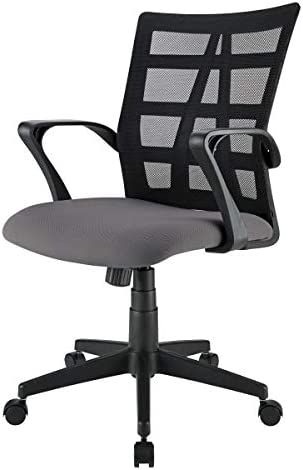 Brenton Studio Jaxby Mesh/Fabric Mid-Back Task Chair
