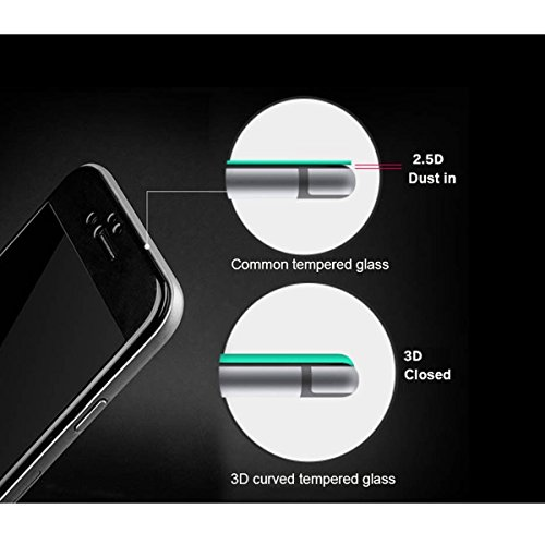 Galaxy S7 Edge Screen Protector,[2-Pack] Galaxy S7 Edge Tempered Glass,DeFitch Ultra HD Clear Anti-Bubble Glass Screen Protector Compatible with Samsung Galaxy S7 Edge by DeFitch (Image #4)