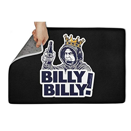 "TablincoT Entrance Door Mat Billy Billy Drink of Champs Series Non-Slip Front Doormat Pet Entry Rug 31""x 19"" Door Mat"