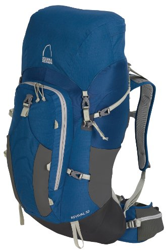 Sierra Designs Revival 50 Backpack (True Blue, Small/Medium)