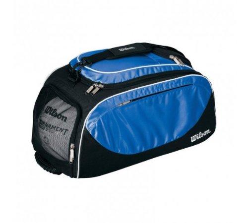 ウィルソンスポーツバッグ/バックパック B002V32QCO  ブラック/ロイヤルブルー