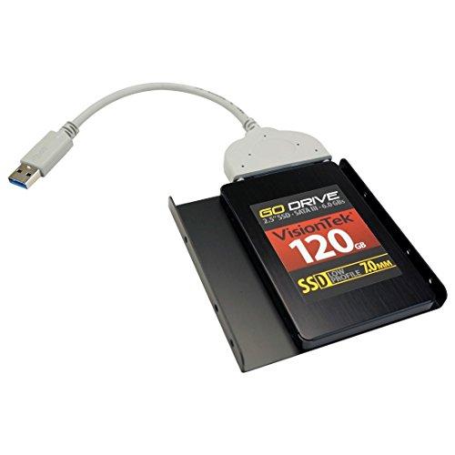 Visiontek 900623-BUNDLE 120GB 7MM SSD SATA III with UNIVERSAL TRANSFER/CLONING KIT