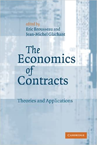 Microeconomics schutzenverein e books download the economics of contracts theories and applications by eric brousseau jean michel glachant pdf fandeluxe Images