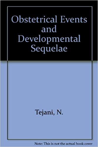 Book Obstetrical Events and Devmtl Sequelae