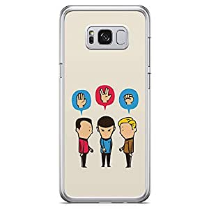 Loud Universe Funny Star Trek Samsung S8 Plus Case Team of Star Trek Classic Samsung S8 Plus Cover with Transparent Edges