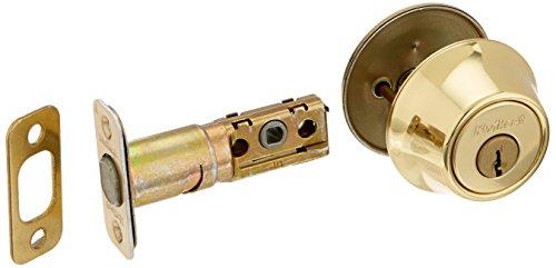 Kwikset 660 Single Cylinder Deadbolt in Polished Brass (Pivot Polished Brass)
