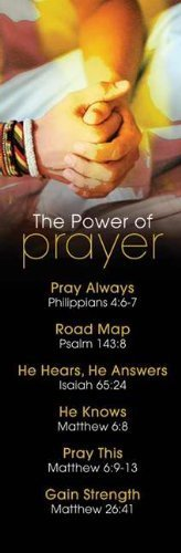 Bookmark - Power of Prayer (Pk/25)
