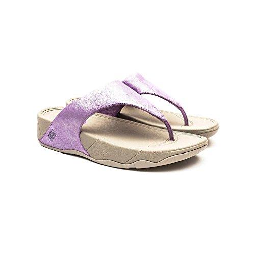 Dusty Lilac De Fitflop Lulu Shimmersuede Lila