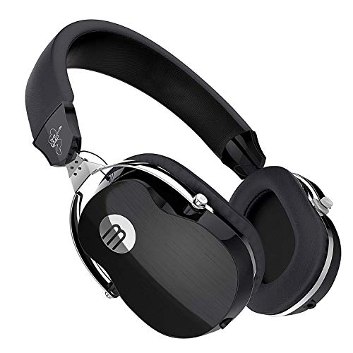 Active Noise Cancelling Headphone with Microphone, Stereo Wired Headset with Microphone & Comfortable Earpads & 12 Hours Playtime &Wired Headphones for Cellphone