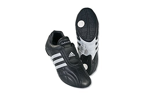ADIDAS SM II SHOES - black w/white stripes - 8