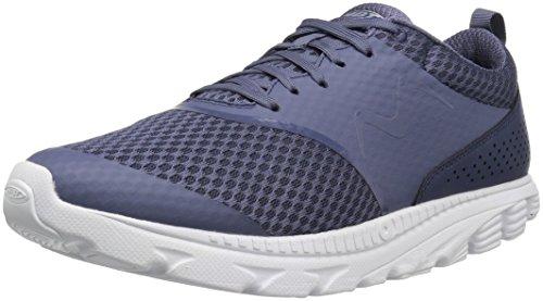 MBT Men's Speed 17 Running Shoe, Navy, 8 M US Mbt Physiological Footwear