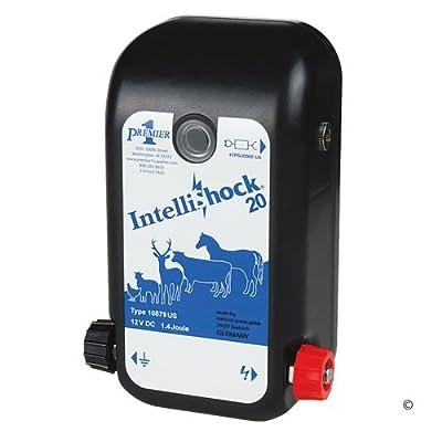 Premier IntelliShock 20 AC/DC Fence Energizer, 2.0 Joule