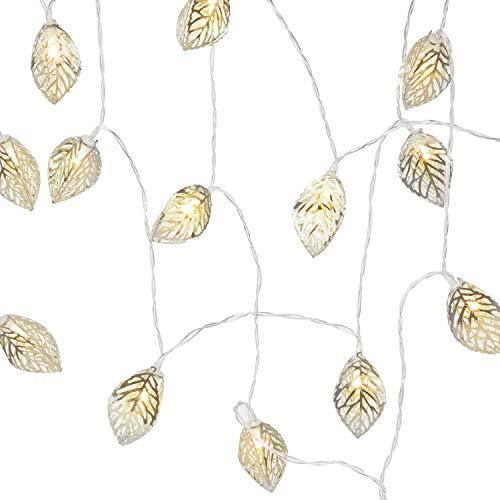 Silver Leaf Led String Light