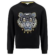 Kenzo Men's Kenzo Tiger Black Sweater