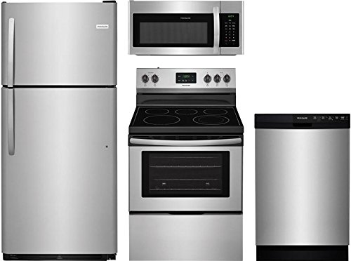 (Frigidaire 4-Piece Stainless Steel Kitchen Package With FFTR2021TS 30