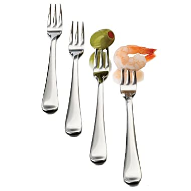 Libbey Just Tasting Appetizer Fork, 12-Piece