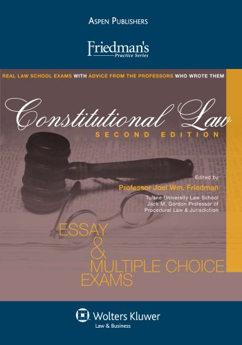 Friedmans Constitutional Law