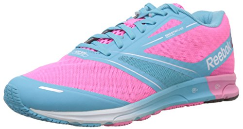 Femme Baskets black sneakers white Lite blue Pink Running Rose Reebok One wxqUEIZAZ