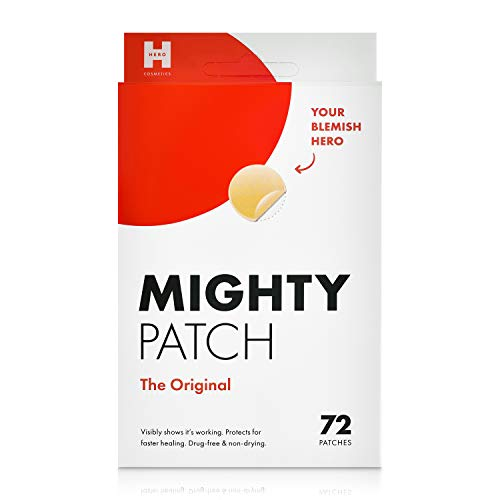 Mighty Patch Hydrocolloid Acne Absorbing Pimple Spot Dot - 72 ()