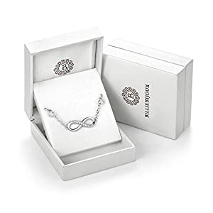 122f0018d470b4 ... Billie Bijoux Womens 925 Sterling Silver Infinity Endless Love Symbol  Charm. upc 700900508902 product image1. upc 700900508902 product image2