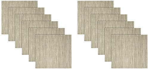Front of the House XPM051GOV83 Metroweave Basketweave Mat...