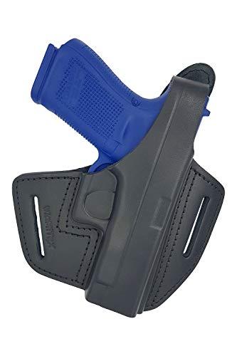 VlaMiTex Holster en Cuir pour Glock 17 19 22 23 25 26 27 31 32 33 34 37 1