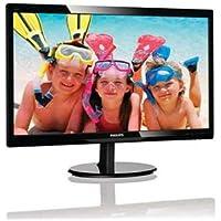 Philips LCD Monitor, Black, 24 (Refurbished)