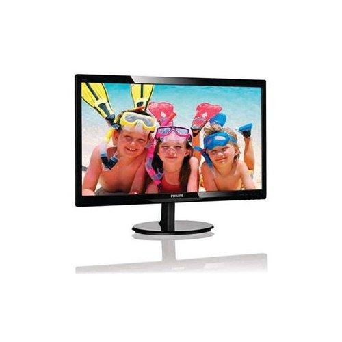 "Philips LCD Monitor, Black, 24"""