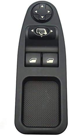 pulsante di comando finestra adatto per Citroen Fiat Scudo Peugeot 6554.ZJ. Interruttore per finestrino 1 PC di finestrino per finestrino per auto